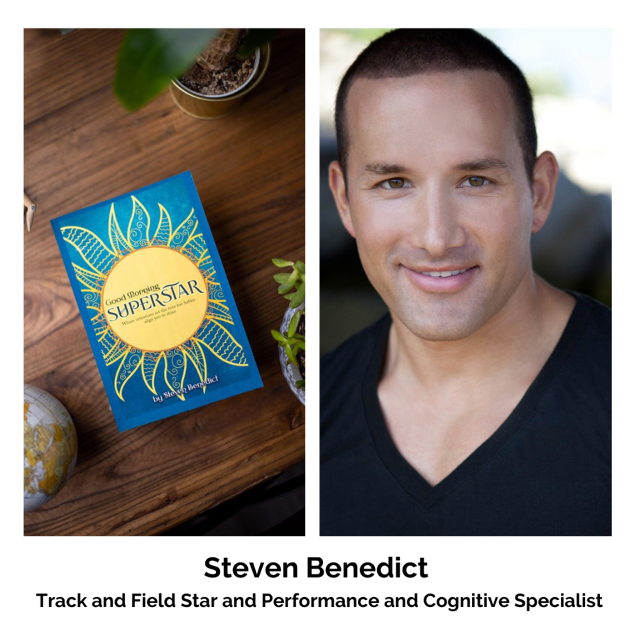 "Proceeds from Track and Field Star Steven Benedict's New Book: ""Good Morning SuperStar"" Will Benefit Adoption and Foster Care Charities During November — National Adoption Month"
