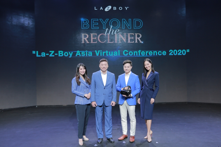 "La-Z-Boy Asia Revealed the Revamped Strategy to Strengthen the Business across Asia In ""La-Z-Boy Asia Virtual Conference 2020"", the First Live Conference of Asia's Recliner Business"