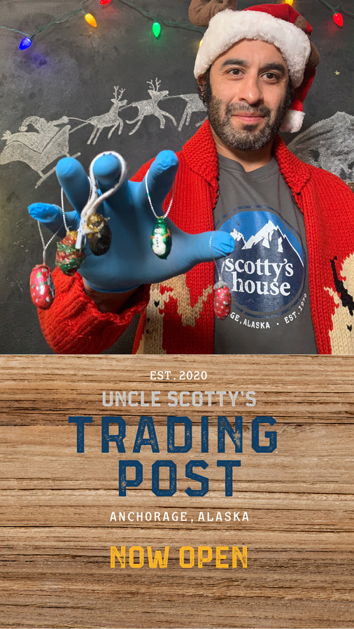 "NHL Stanley Cup Champion Scotty Gomez – Creator/Star of YouTube's Hit ""Scotty's House"" – Opens First Alaskan Virtual Trading Post Just In Time for the Holiday Season"