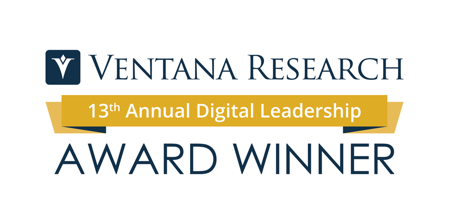 Ventana Research Announces the Winners of the 13th Annual Digital Leadership Awards