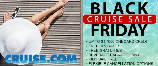 Cruise.com Announces Its Spectacular Black Friday Sale
