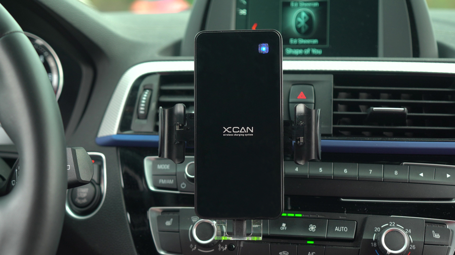 The World's First Smart Auto-Navigation & Fast Wireless Charging Car Mount