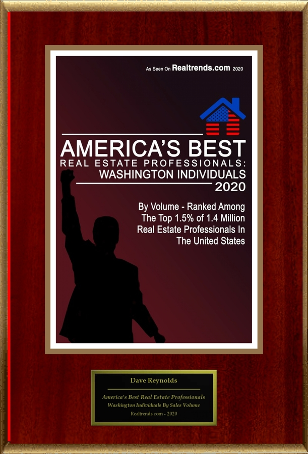 "Dave Reynolds Selected For ""2020 America's Best Real Estate Professionals: Washington Individuals"""