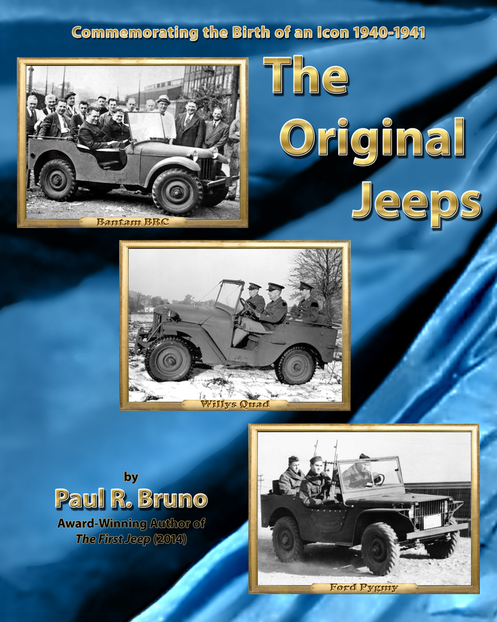 Paul Bruno's The Original Jeeps – The Race To Build America's First Jeeps Now Available In Kindle Format
