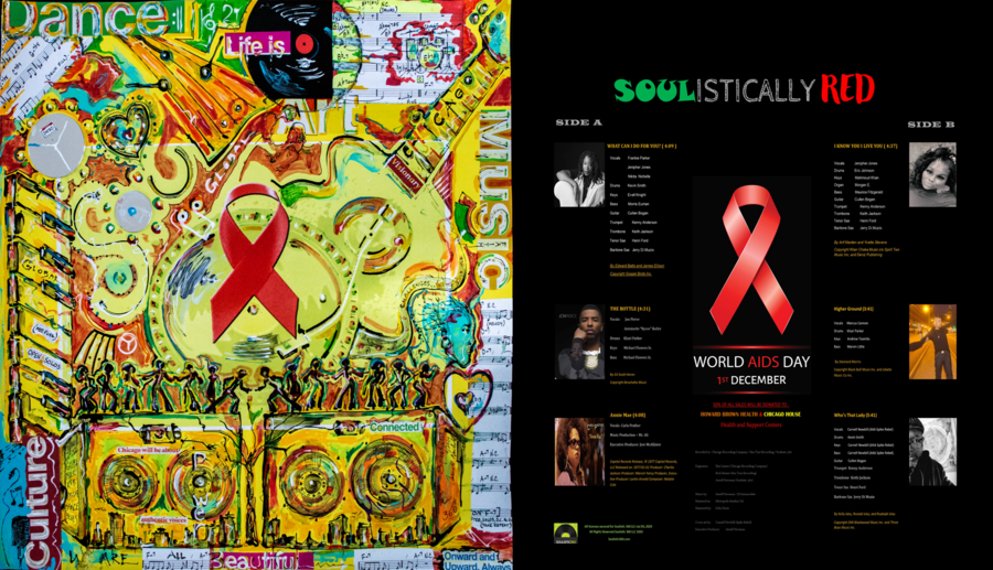 Soulistic 360 Announces Soulistically Red Album Collaboration in Support of World Aids Day