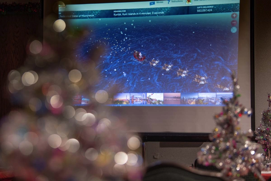 NORAD is Ready to Track Santa's Flight for the 65th Year