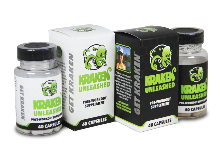 Kraken Kratom Unleashes First Of Its Kind Workout Supplement Line