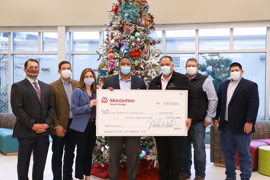"Manhattan Road & Bridge Company Supports The Children's Center Rehabilitation Hospital's ""Christmas Heroes"" Campaign"