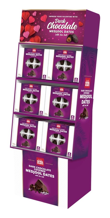 Start Planning Valentine's Day Promotions With Bard Valley Dark Chocolate Covered Medjool Dates