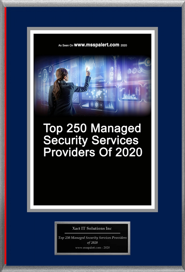 "Xact IT Solutions Inc Selected For ""Top 250 Managed Security Services Providers of 2020"""
