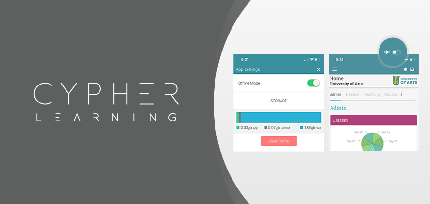 CYPHER LEARNING releases offline mode for the Android and iOS apps of NEO and MATRIX LMS