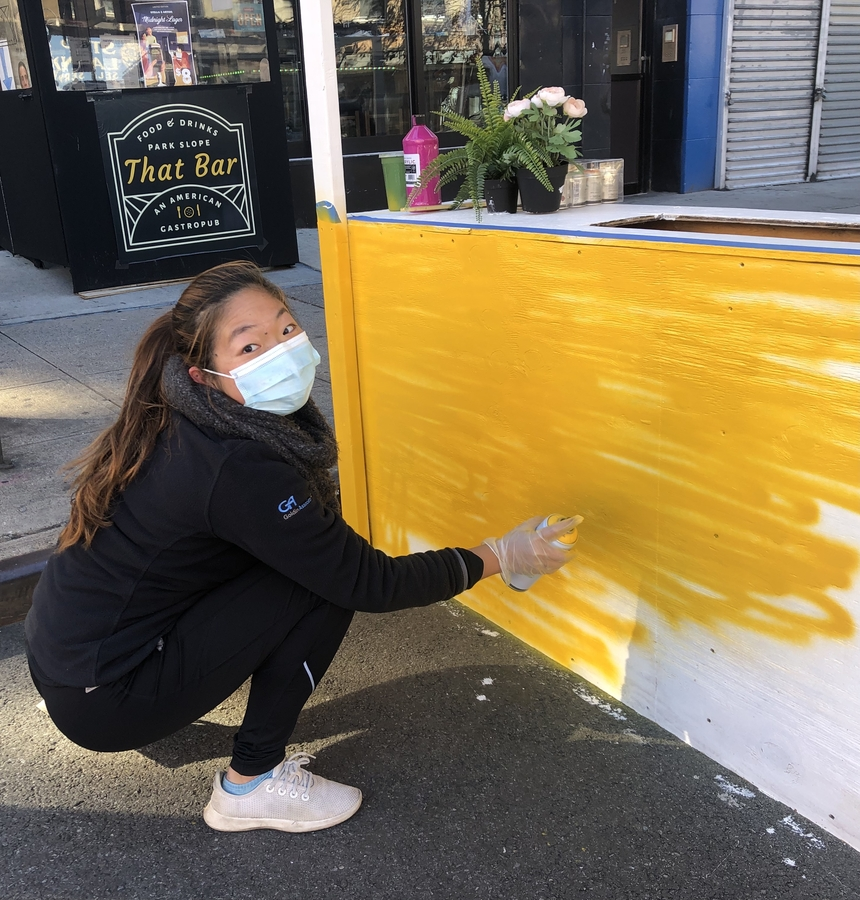 """Park Slope's New American Gastropub """"That Bar"""" Collaborates with Local Artists"""
