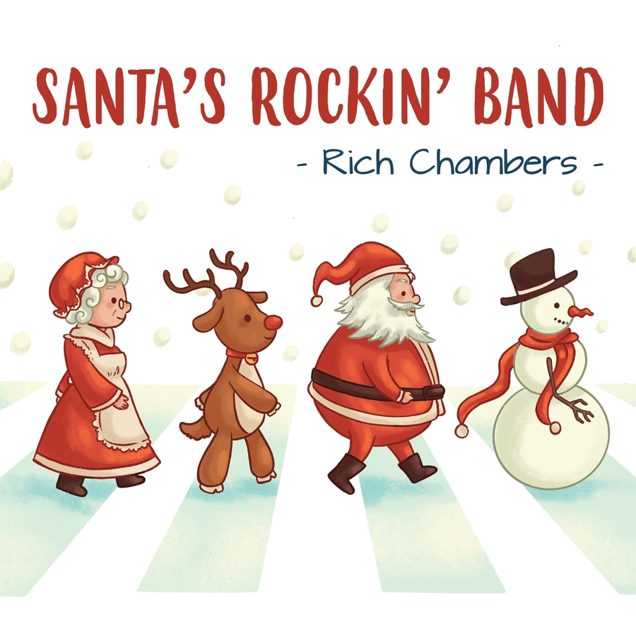 New Rock N' Roll for Christmas 2020 – It's Santa's Rockin' Band