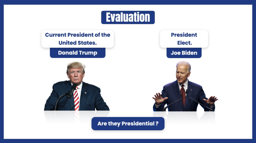 Credibility Evaluation of President Trump and President-elect Biden