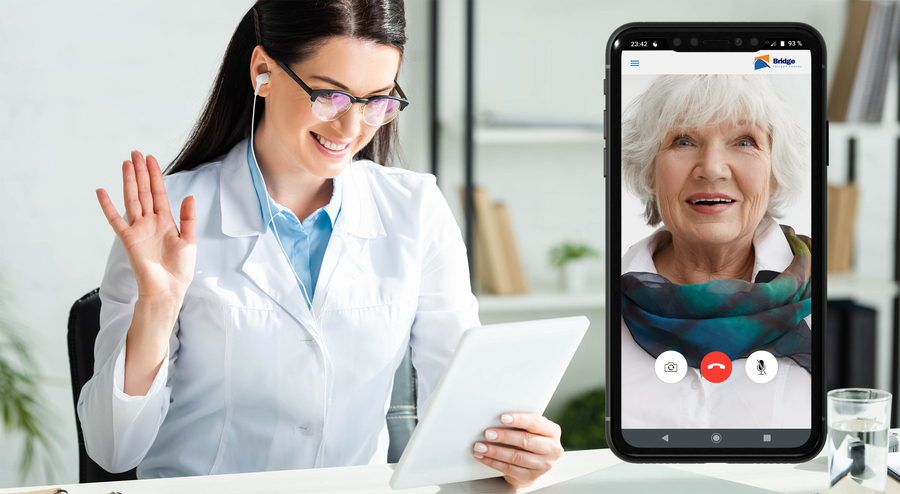 Bridge Patient Portal Launches its Next-Generation Telehealth Solution