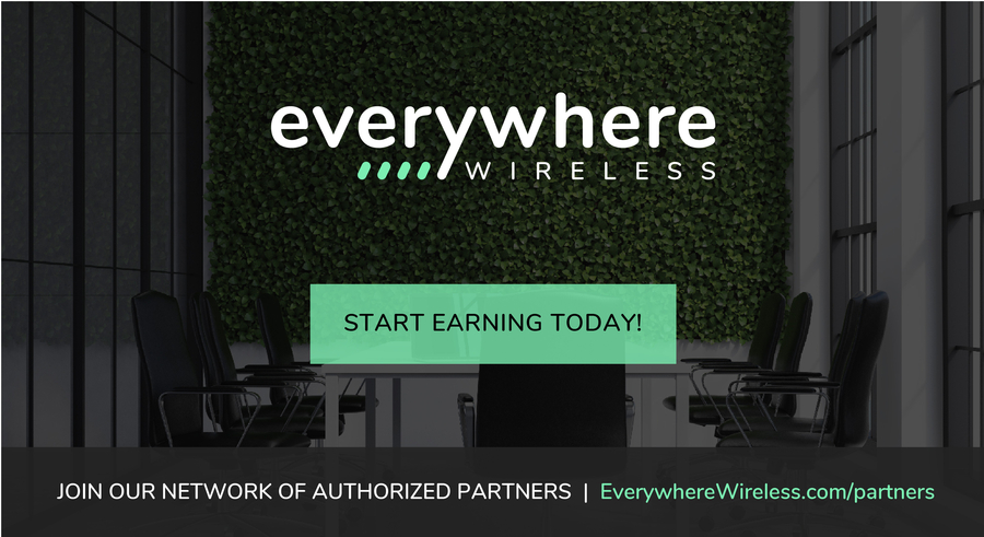 Everywhere Wireless Releases new Authorized Partner Program with Industry-leading Commissions