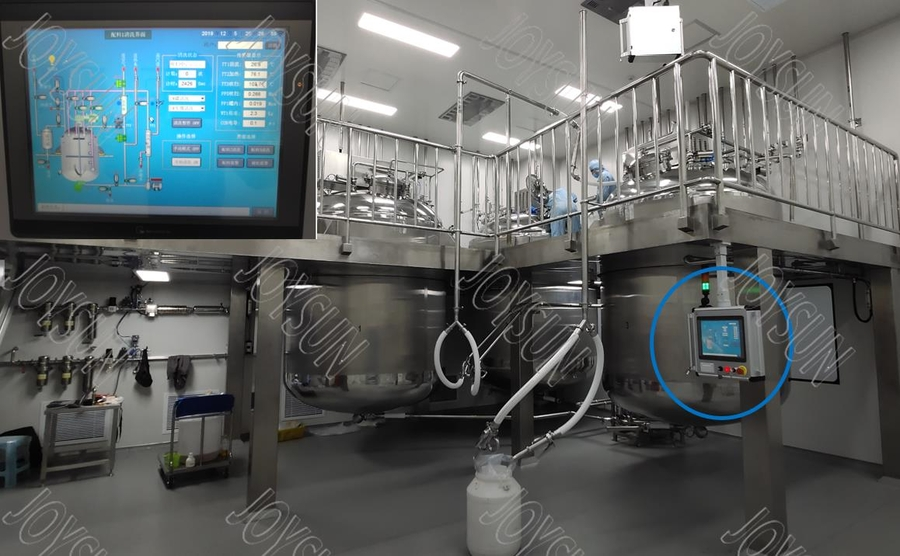 Automatic Gelatin and Medicine Preparation System for Softgel Manufacturing Technology