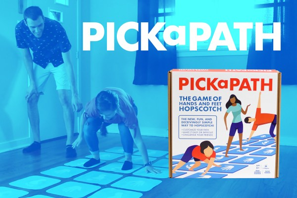 Hands and Feet Hopscotch is the Best Party Game for Kids and Adults Since Hasbro's Twister