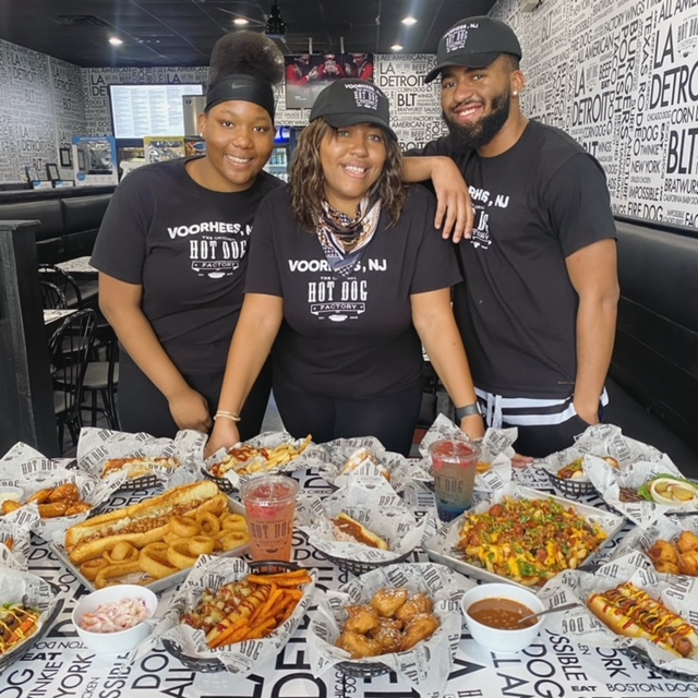 Lashaun Drew is Building Generational Wealth and Using Her 1st Franchise The Original Hot Dog Factory in South Jersey to Give Back to The Community