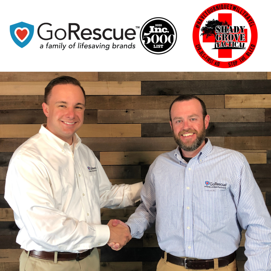 GoRescue Brands acquires Alabama CPR AED company: Shady Grove Tactical