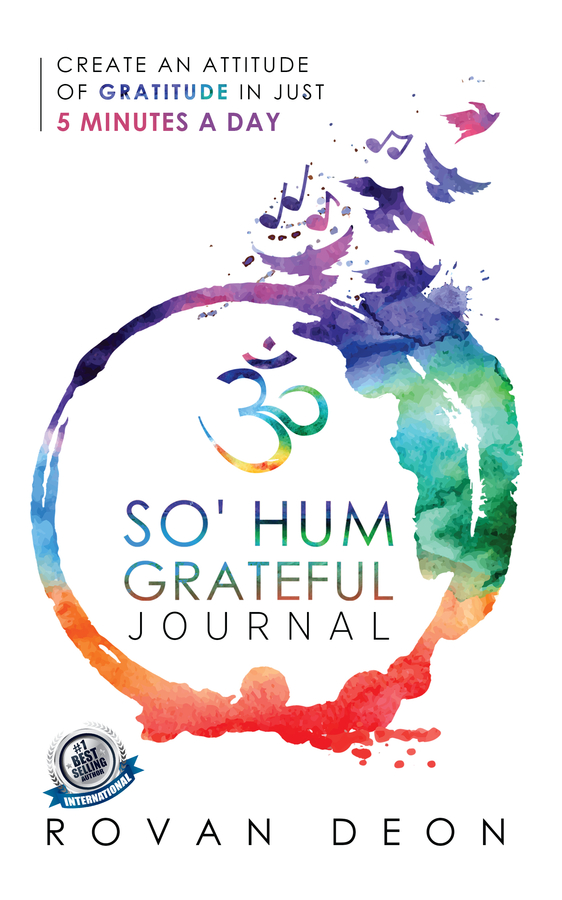 "Rovan Deon's book ""So' Hum Grateful Journal"" Becomes A Best Seller"