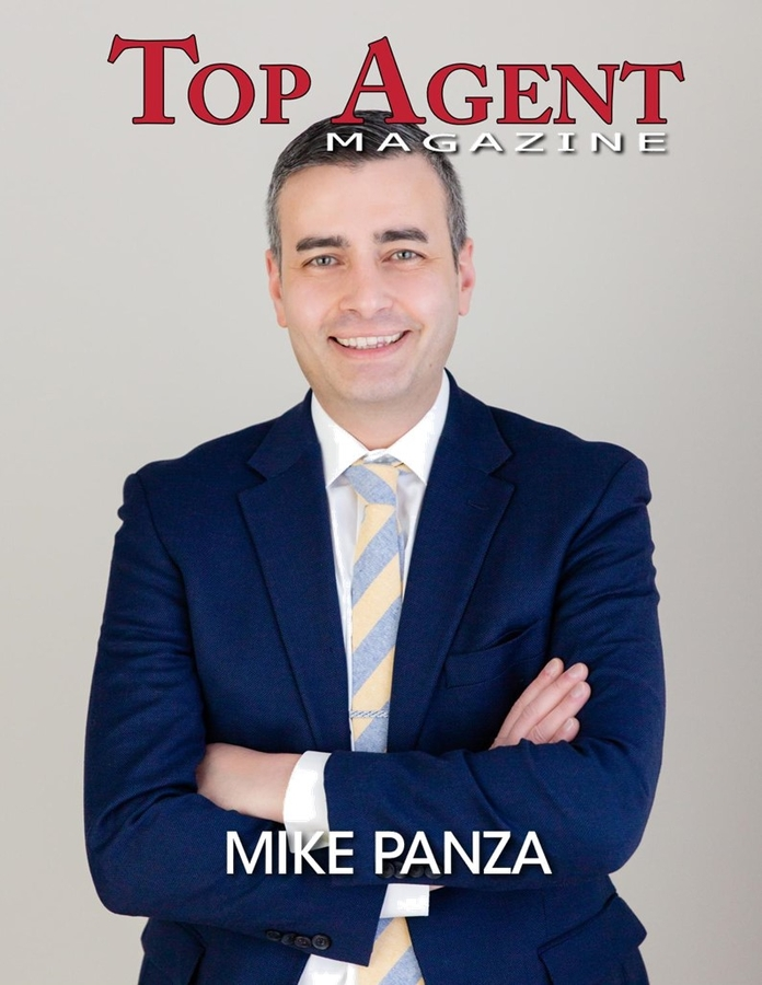 Mike Panza Featured in the January 2021 edition of Top Agent Magazine