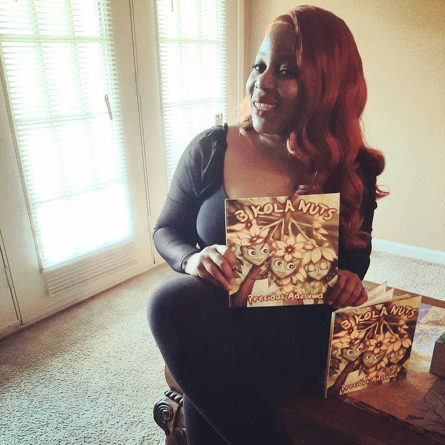 Children's Author Precious Adesuwa Releases New Book that Teaches Patience