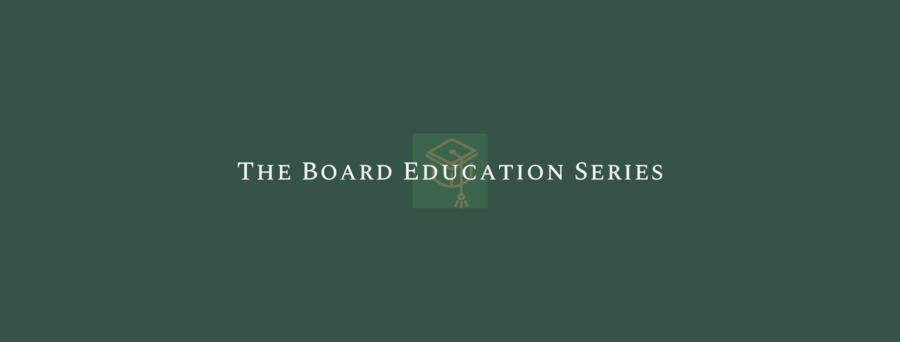 BHDP, AGB, Terra Firma Rally Experts and Support Higher Education with Launch of The Board Education Series™