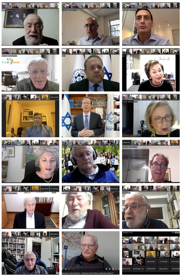Marking International Holocaust Remembrance Day, Honoring Baruch Shub – Limmud FSU Mounts Special Online Event