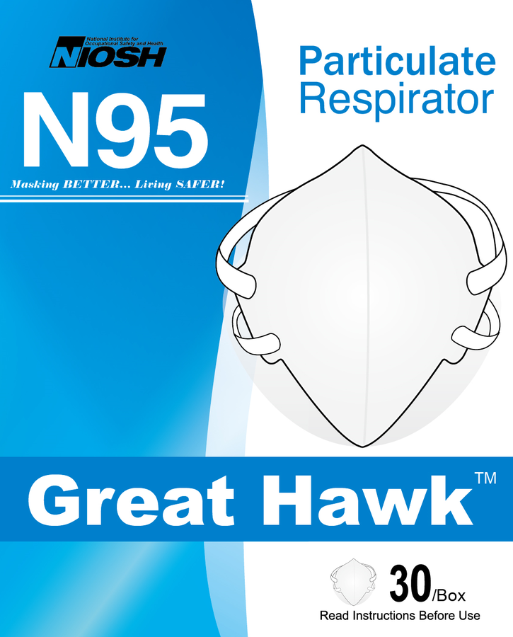 NIOSH Approves Great Hawk™ GH8000 N95 Respirators for Global COVID-19 Prevention