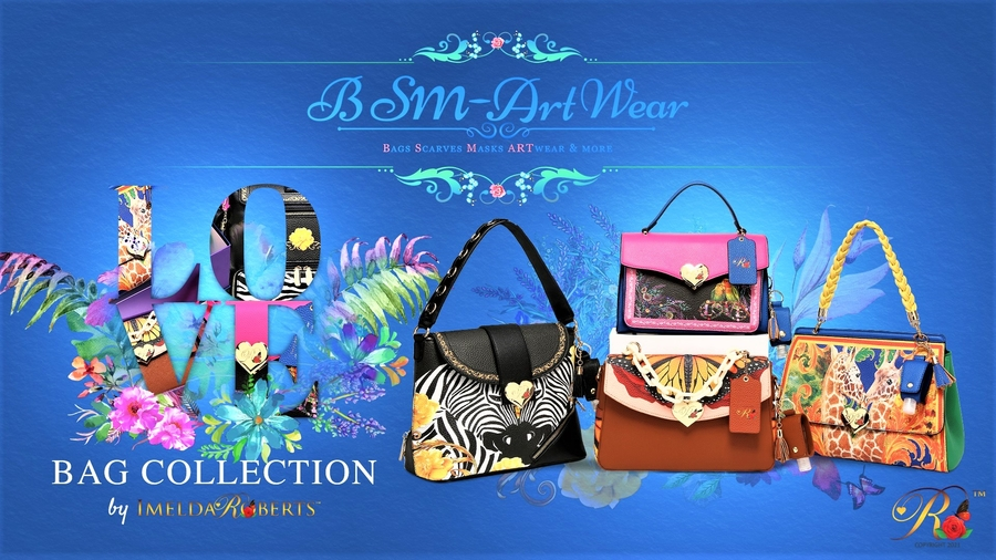 Blue Dreams USA Launches BSM-ART Wear by Imelda Roberts
