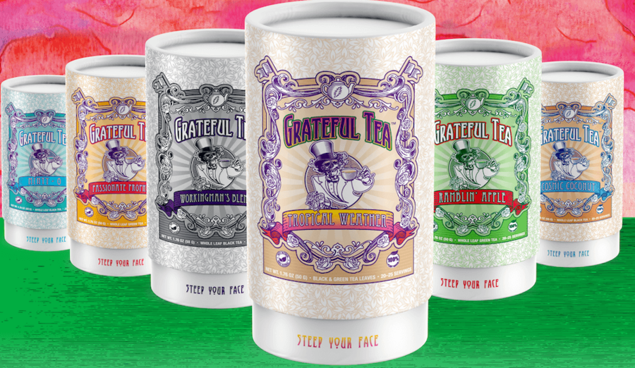Grateful Teas from Love Some Tea Released to Market Inspired by the Music, Values, and Lifestyle of the Iconic Band