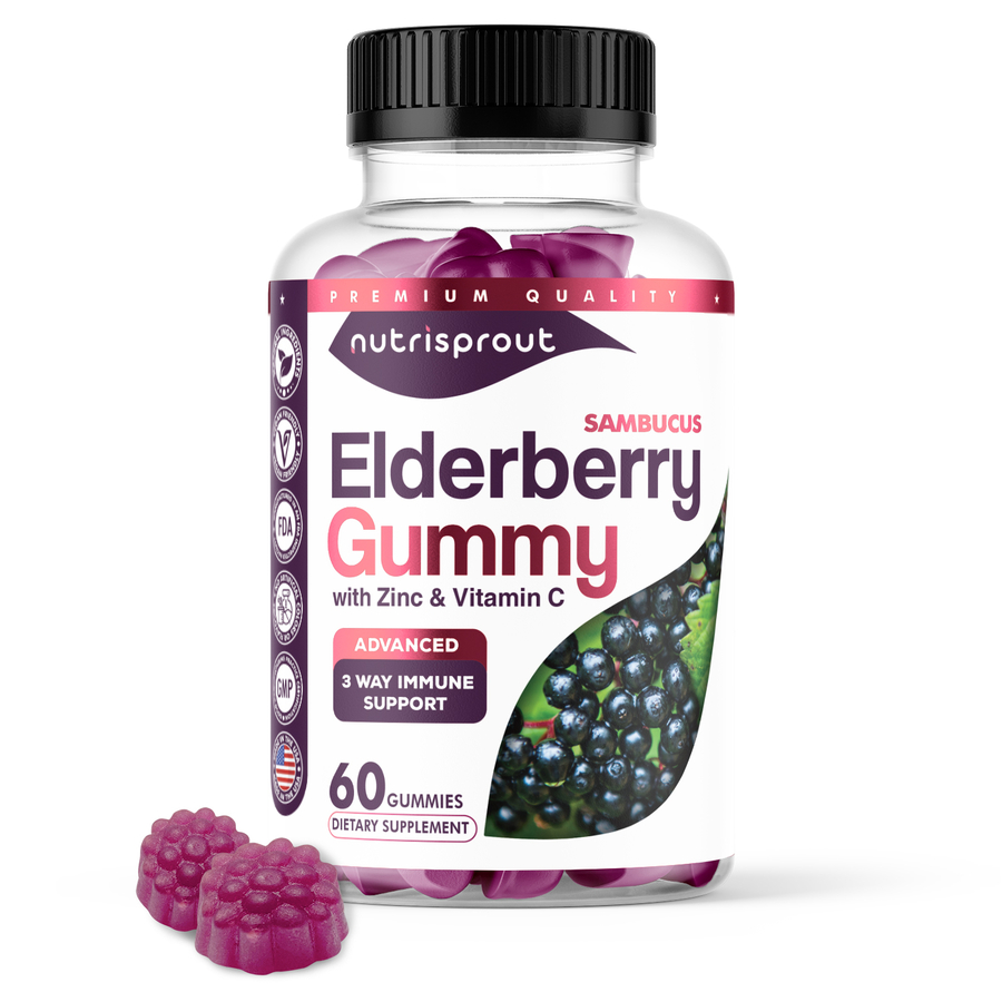 NutriSprout Launches Powerful Elderberry Supplement To Boost The Immune System