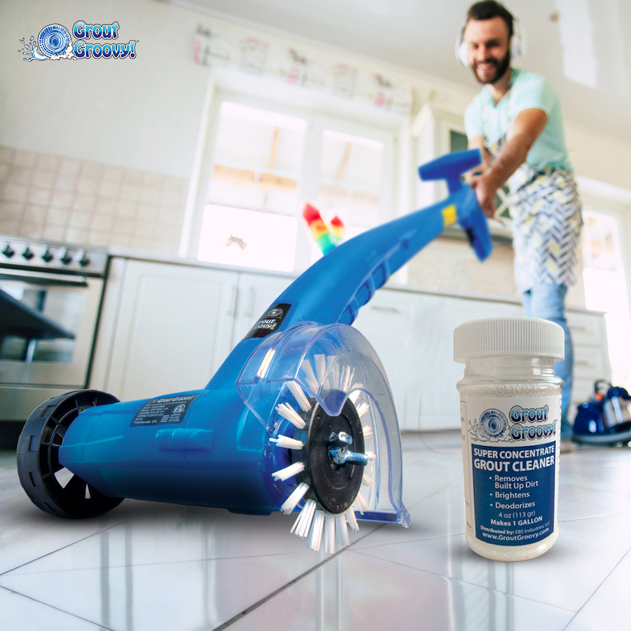 Grout Groovy – Electric Grout Cleaning Machine