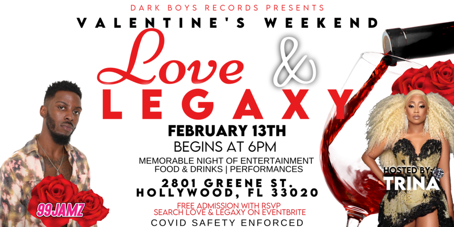 "Femcee Legend and Multi-Media Personality, Trina, Host A Night Filled With ""Love & Legaxy"""