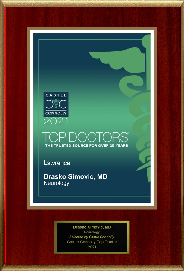 Dr. Drasko Simovic, Neurology, is named one of America's Top Doctors®