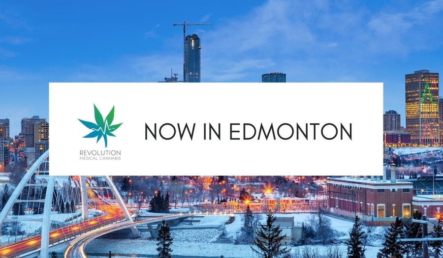 Medical Cannabis in Edmonton: 4 Revolution locations in Edmonton in St. Albert
