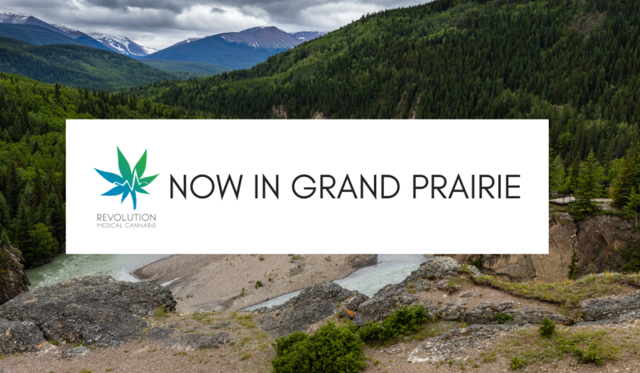 Revolution Medical Cannabis: Now proudly open in Grande Prairie