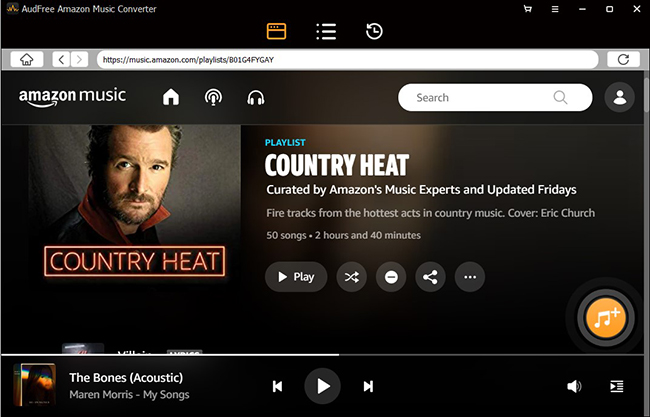 AudFree Amazon Music Converter – Officially Launched for Music Lovers