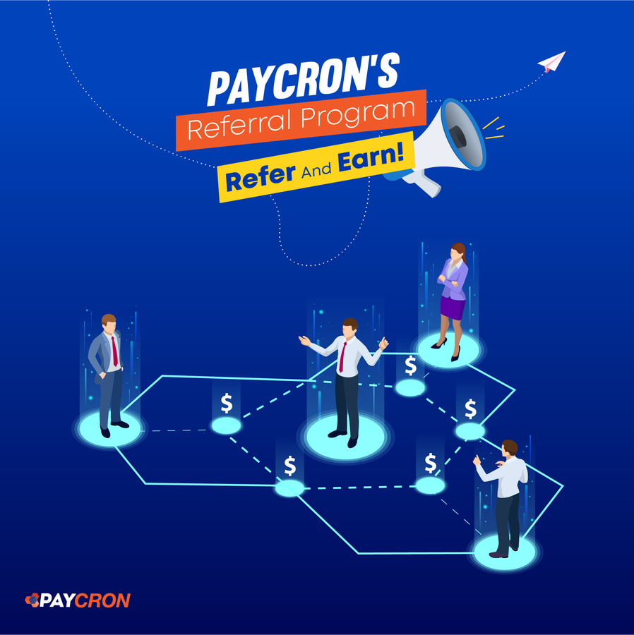Paycron's Referral Program- Refer and Earn Amazing Rewards