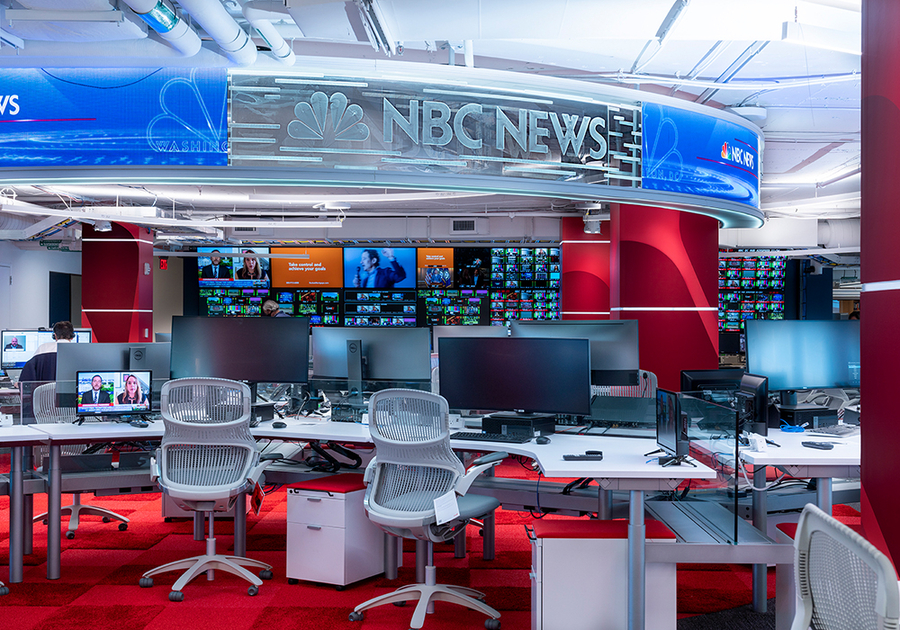 Meridian Design Associates Architects Completes NBCU News Group's New Washington Bureau