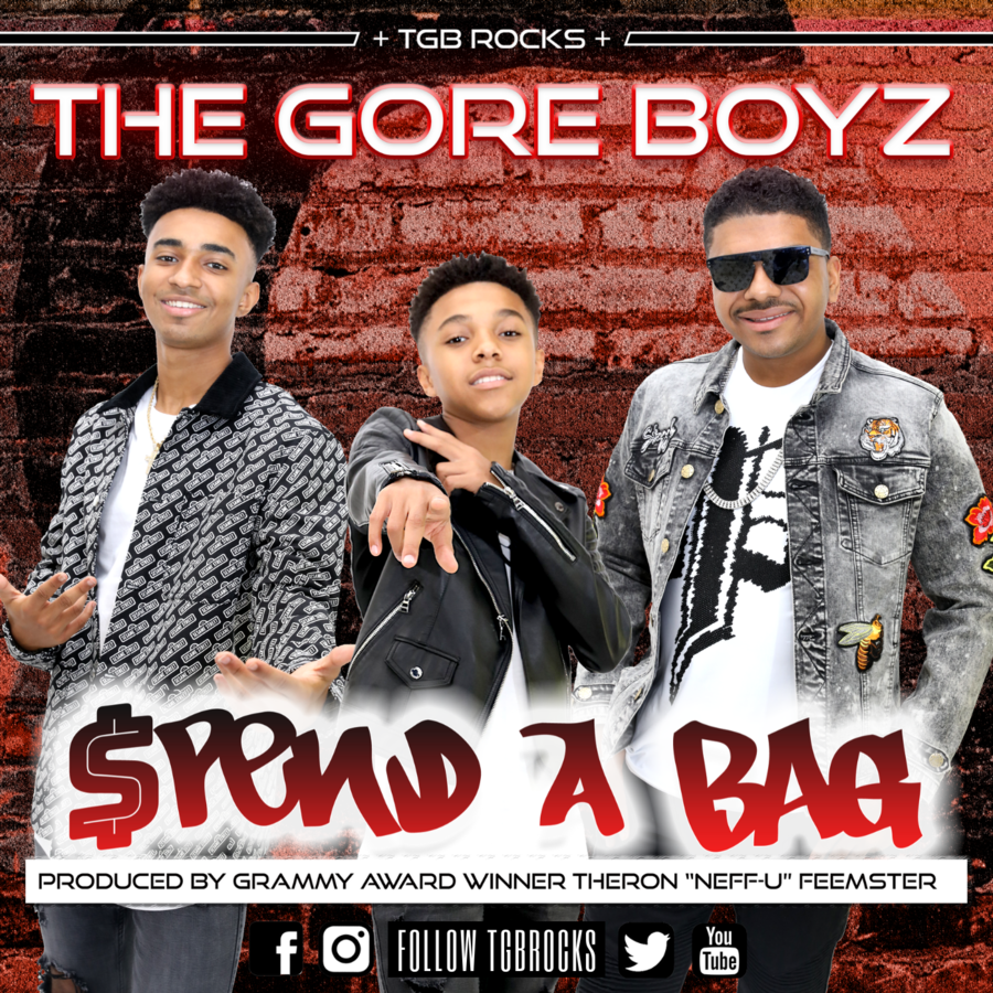 The Gore Boyz (TGB) 'SPEND A BAG' Is The New No. 1 Song On The DRT Global Indie Chart