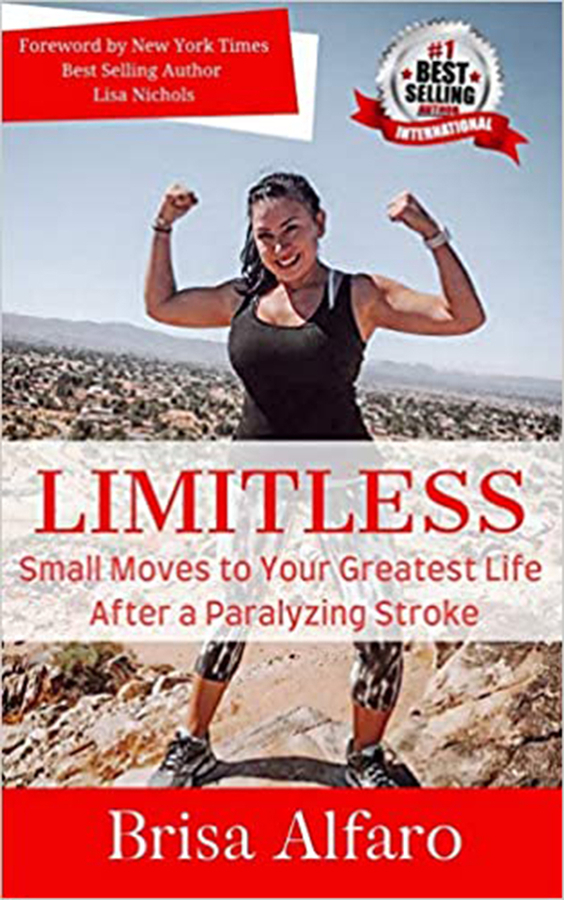 Miracle Stroke Survivor's First Book Becomes An Instant Best Seller!