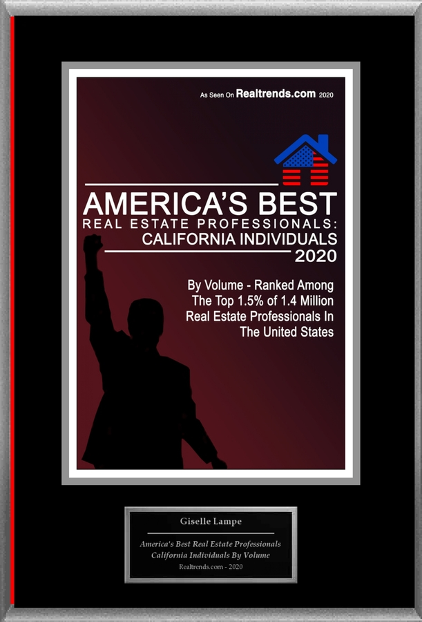 "Giselle Lampe Selected For ""2020 America's Best Real Estate Professionals: California Individuals"""