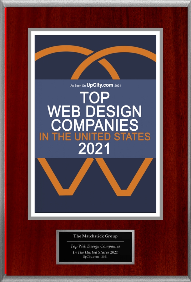"The Matchstick Group Selected For ""Top Web Design Companies In The United States 2021"""