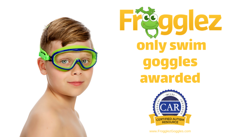 FROGGLEZ Swimming Goggles Approved as a Certified Autism Resource