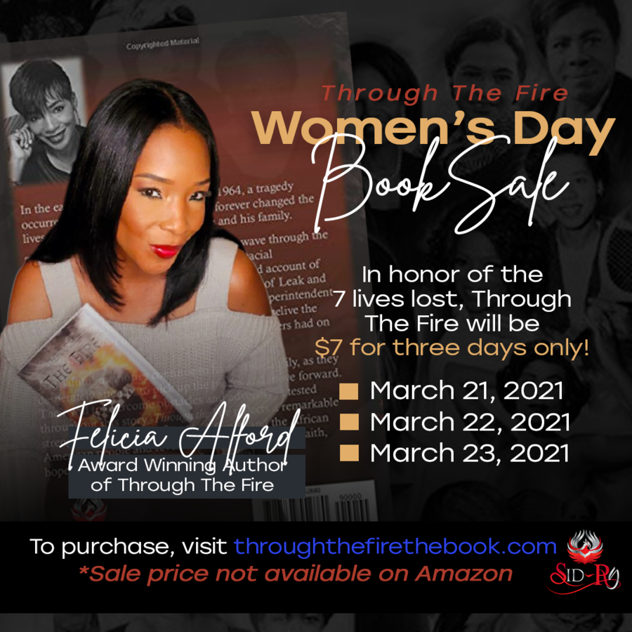 Felicia Alford Announces Through The Fire Women's Day Campaign