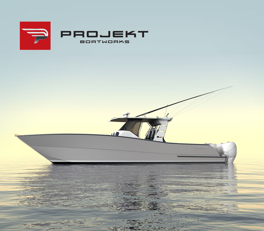 39′ Catamaran Launches ProJekt Boatworks