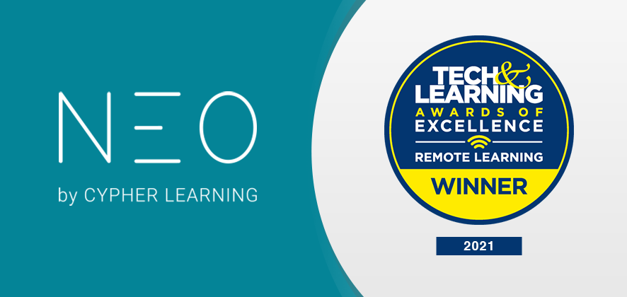 NEO LMS Selected as a Winner of the 2021 Tech & Learning Awards of Excellence