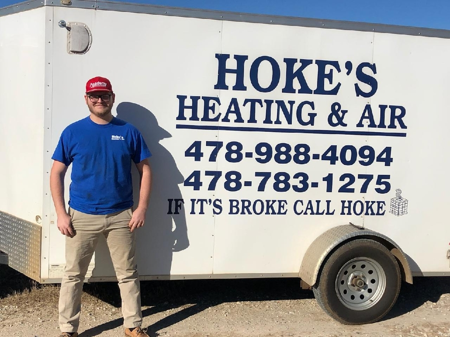Houston County Career Academy along with Hoke's Heating & Air Create a Pipeline for Young HVAC Technicians